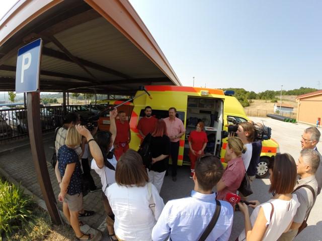 Ministar zdravlja u posjeti timovima smještenim u HAC Brinje i OB Ogulin
