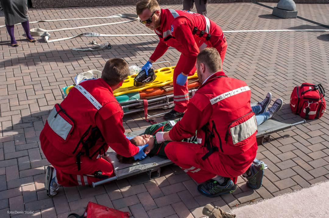 Vježba evakuacije u Aquatici