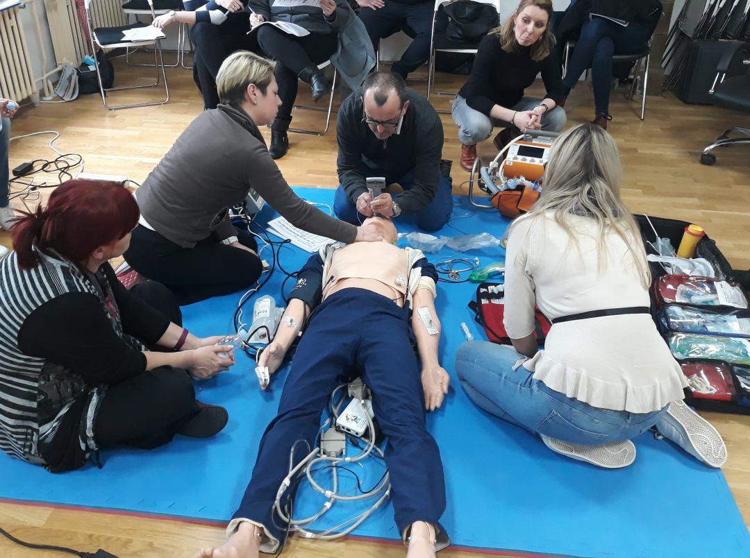 """Uspješno odrađen 3. modularni tečaj """"Brze intubacije u slijedu"""""""