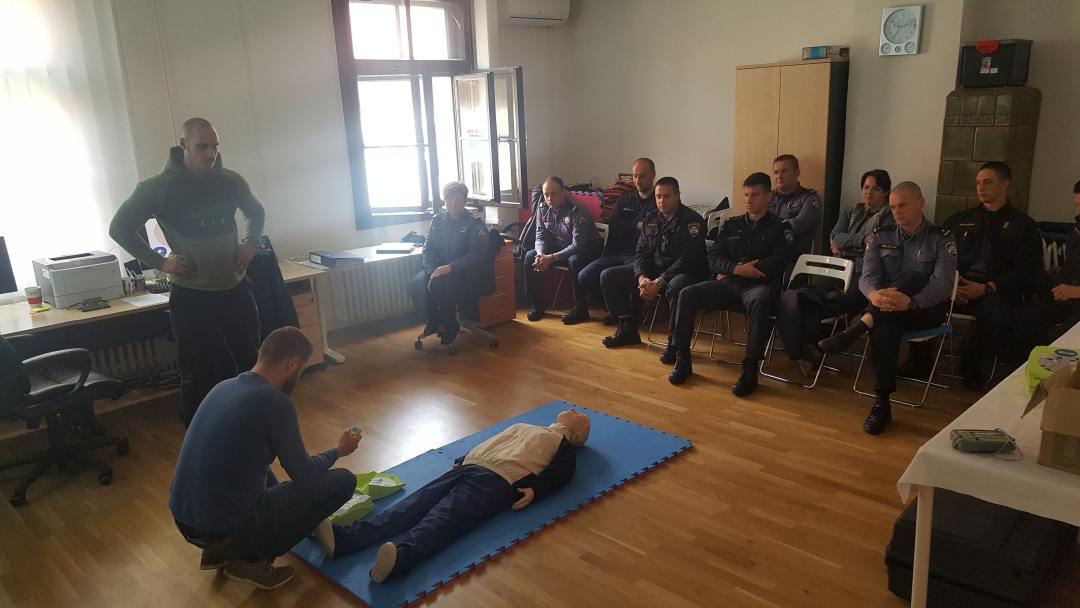 Edukacija djelatnika Policijske uprave Karlovačke