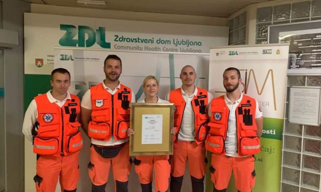 "Pobjednici među profesionalcima – ""Best CPR team"" 2019."