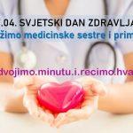 Svjetski dan zdravlja: Podržimo medicinske sestre i primalje!