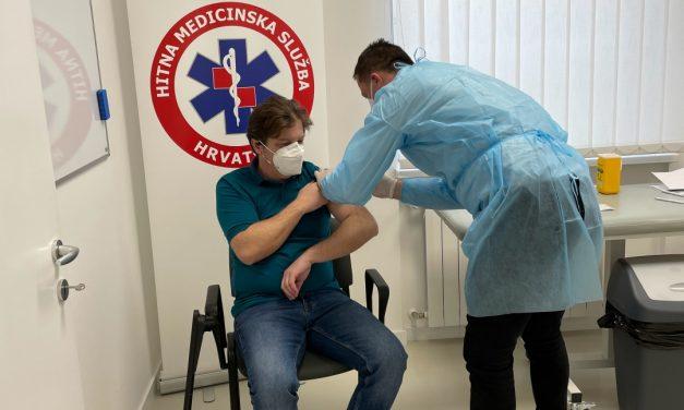 Počelo cijepljenje radnika hitne medicinske službe