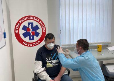 Cijepljenje radnika HMs
